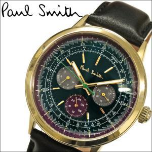 ポールスミス PAUL SMITH  メンズ 時計 腕時計  (P10006)ブラック ブラックレザー|ryus-select