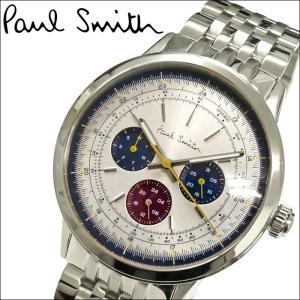 ポールスミス PAUL SMITH  メンズ 時計 腕時計  (P10007)シルバー|ryus-select