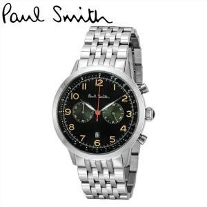 【商品入れ替えクリアランス】ポールスミス 腕時計 メンズ (P10018)ブラック/グリーン×シルバー 緑の腕時計 ryus-select