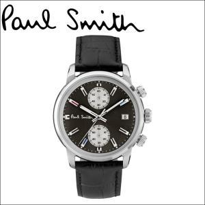 ポールスミス/PAUL SMITH 腕時計(P10031)グレー×ブラックレザー|ryus-select