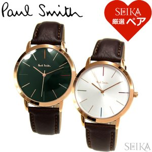 時計 ペアウォッチポールスミス メンズ P10056 レディース P10053 腕時計|ryus-select