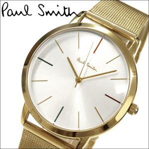 ポールスミス/PAUL SMITH 腕時計(P10092)シルバー×ゴールド/メッシュ|ryus-select