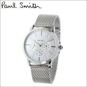 【商品入れ替えクリアランス】(特典付き) ポールスミス 腕時計 メンズ (P10111)シルバー メッシュ ryus-select