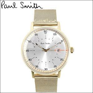 【商品入れ替えクリアランス】ポールスミス 腕時計 メンズ (P10130)ゴールド×シルバー メッシュ ryus-select