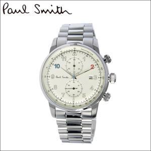 【当店ならお得クーポンあり】ポールスミス/PAUL SMITH 腕時計(P10142)シャンパンゴールド×シルバー ryus-select