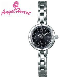 (ショップ袋付)エンジェルハート Angel Heartピュアエンジェル 時計 腕時計 レディースPA22SB ソーラー電池 ブラック シルバー|ryus-select