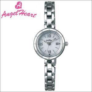 (ショップ袋付)エンジェルハート Angel Heartピュアエンジェル 時計 腕時計 レディースPA22SB ソーラー電池 ホワイト シルバー|ryus-select