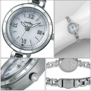 (ショップ袋付)エンジェルハート Angel Heartピュアエンジェル 時計 腕時計 レディースPA22SB ソーラー電池 ホワイト シルバー|ryus-select|02