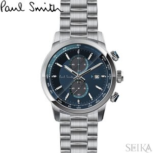 【当店ならお得クーポンあり】ポールスミス PAUL SMITH PS0110023腕時計 メンズ ネイビー シルバー ryus-select