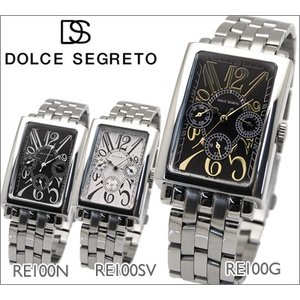 【当店ならお得クーポンあり】ドルチェ セグレート DOLCE SEGRETO メンズ 腕時計 RE100G/RE100N/RE100SV|ryus-select