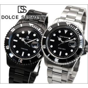 時計 ドルチェ セグレート DOLCE SEGRETO メンズ 腕時計 SB300BB SB300BK (CSB300BK|ryus-select