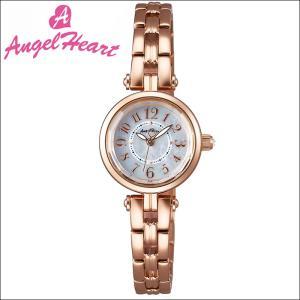 (ショップ袋付)エンジェルハート Angel Heartサニードリーム 時計 腕時計 レディースSD22PG ソーラー電池 ホワイトシェル ピンクゴールド|ryus-select