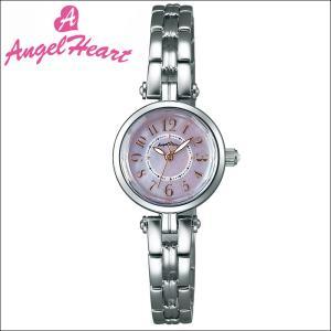 (ショップ袋付)エンジェルハート Angel Heartサニードリーム 時計 腕時計 レディースSD22SS ソーラー電池 ピンクシェル シルバー|ryus-select