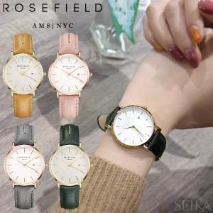 (スプリングクリアランス) 時計 ローズフィールド ROSEFIELD レザー 33mm(CPT)|ryus-select