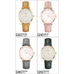 【商品入れ替えクリアランス】ローズフィールド レザー 33mm 時計 腕時計 レディース(今春注目のニュアンスカラー) 【CPT】|ryus-select|02