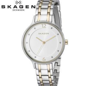 【商品入れ替えクリアランス】スカーゲン SKAGEN SKW2321 アニタ 時計 腕時計 レディース シルバー ゴールド|ryus-select