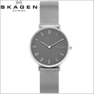 【当店ならお得クーポンあり】スカーゲン SKAGEN SKW2677 ハルド時計 腕時計 レディース グレー メッシュ|ryus-select