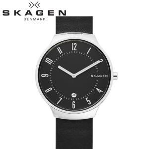 【商品入れ替えクリアランス】スカーゲン SKAGEN グレーネン GRENEN     skw6459 時計 腕時計 メンズ ブラック レザー|ryus-select