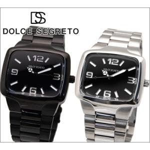 時計 ドルチェ セグレート DOLCE SEGRETO メンズ 腕時計 SQ100BK SQ100BP|ryus-select