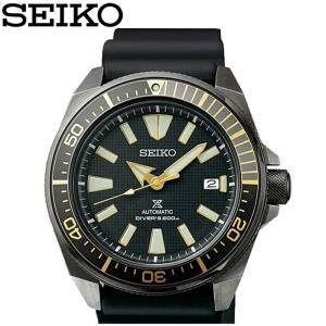 セイコー SEIKO SRPB55K1(57) ダイバーズ 自動巻き時計 腕時計 メンズ ブラック ラバー海外モデル 逆輸入 20気圧防水|ryus-select