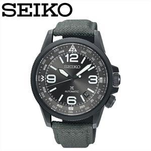 【商品入れ替えクリアランス】セイコー SEIKO SRPC29K1(20) プロスペックス 自動巻き 時計 腕時計 メンズ グレー クロスレザー 海外モデル 逆輸入|ryus-select