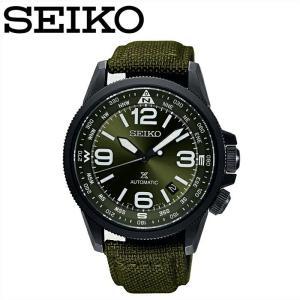 【クリアランス】 セイコー SEIKO SRPC33K1(21)プロスペックス 自動巻き時計 腕時計 メンズ グリーン クロスレザー海外モデル 逆輸入|ryus-select