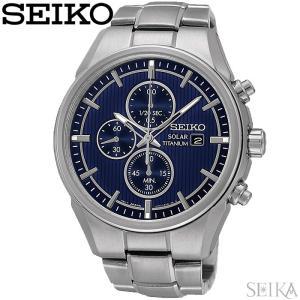 【当店ならお得クーポンあり】セイコー SEIKO SSC365P1(95) ソーラー時計 腕時計 メンズ ブルー シルバー海外モデル 逆輸入|ryus-select