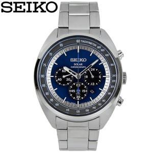 【当店ならお得クーポンあり】セイコー SEIKO SSC619P1(40)ソーラー 時計 腕時計 メンズ ネイビー海外モデル 逆輸入|ryus-select