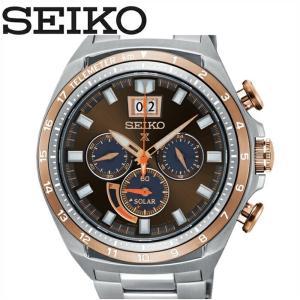 セイコー SEIKO SSC664P1(52)時計 腕時計 メンズ ブラウン シルバーソーラー 逆輸入|ryus-select