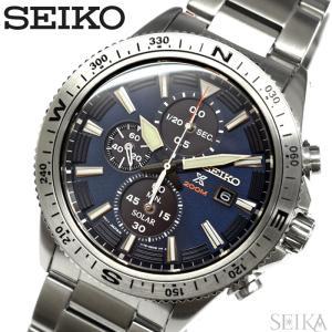 セイコー SEIKO SSC703P1(129) プロスペックス ソーラー 時計 腕時計 メンズ ネイビー シルバー ryus-select