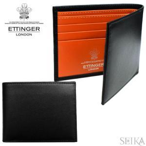 ETTINGER エッティンガー (22)ST030CJR 二つ折り財布 札入れ カードケース STERLING メンズ ギフト (CPT)|ryus-select