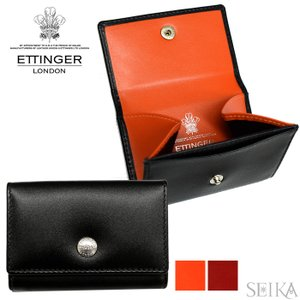 ETTINGER エッティンガー (29)ST2034DJR コインケース 小銭入れ 財布 STERLING メンズ ギフト (CPT)|ryus-select