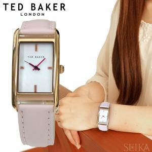 テッドベーカー スクエア (11)10030751 時計 腕時計 レディース レザー シェル ピンク ギフト|ryus-select