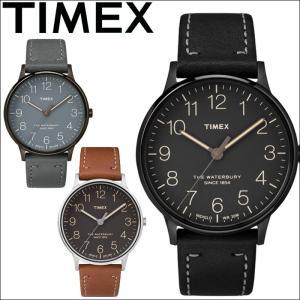 タイメックス/TIMEX 時計 40mm/レザー/ユニセックス/メンズ/レディース TW2P95900(13)TW2P96000(14)TW2P95800(15) 正規品|ryus-select