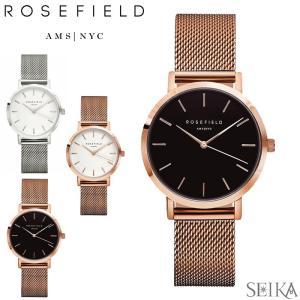 時計 ローズフィールド トライベッカ Tribecaメッシュ 33mm 腕時計 レディース (CPT)|ryus-select