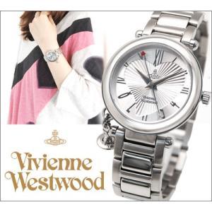 (5年保証) 時計 ヴィヴィアンウエストウッド Vivienne Westwood レディース 腕時計 VV006SL シルバー Orb (オーブ)|ryus-select