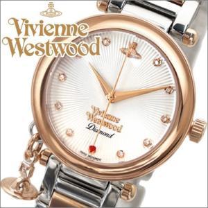 ヴィヴィアンウエストウッド/Vivienne Westwood (VV006SLRS) レディース 腕時計 ピンクゴールド×シルバー|ryus-select