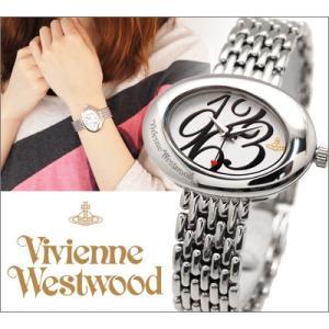 【商品入れ替えクリアランス】ヴィヴィアンウエストウッド  エリプス 時計 腕時計 レディース ホワイト シルバー VV014WHSL白い腕時計|ryus-select