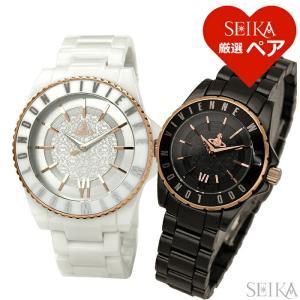 ペアウォッチヴィヴィアンウエストウッド VV048RSWH VV088RSBK 時計 腕時計 メンズ レディース|ryus-select