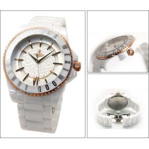 ヴィヴィアンウエストウッド メンズ 時計 VV048RSWH/ホワイト×ピンクゴールド|ryus-select|02