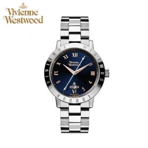 (5年保証) 時計  ヴィヴィアンウエストウッド 腕時計 レディース ネイビー シルバー VV152NVSL 青い腕時計|ryus-select