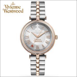 (ショップ袋プレゼント)ヴィヴィアンウエストウッドVivienne Westwood時計 腕時計 レディースピンクゴールド シルバー VV168RSSL|ryus-select