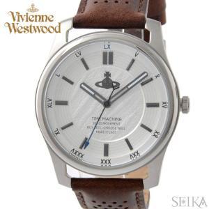 (5年保証) (クリアランス) 時計 ヴィヴィアンウエストウッド Vivienne Westwood VV185SLBR メンズ 腕時計 レザー|ryus-select