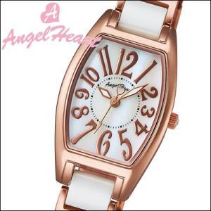 (ショップ袋付)エンジェルハート/Angel Heart  レディース 腕時計 WL21CPG (ラヴスポーツ)ホワイトシェル×ピンクゴールド/ホワイトセラミック(ty1)|ryus-select