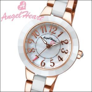 (ショップ袋付)エンジェルハート/Angel Heart  レディース 腕時計 WL27CPG (ラヴスポーツ)ホワイトシェル×ピンクゴールド/ホワイトセラミック(ty1)|ryus-select