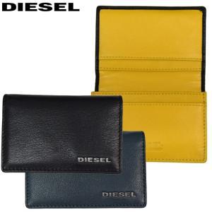 (98)DIESEL/ディーゼル 名刺入れ/カードケースDUKEZ(X02469-PR378)(X03361-PR378)メンズ/レディース/サイフ|ryus-select