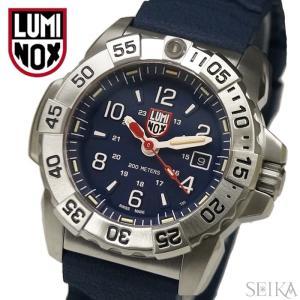 (レビューを書いて5年保証) 時計 ルミノックス ネイビー シールズ スティール(20)XS.3253 ネイビーブルー 腕時計 メンズ T25表記 ラバー 父の日|ryus-select