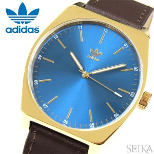 【当店ならお得クーポンあり】アディダス adidas Process_L1【13】Z05-2959(Z05-2959-00)時計 腕時計 メンズ レディース ブルー ブラウン レザー 青い腕時計|ryus-select