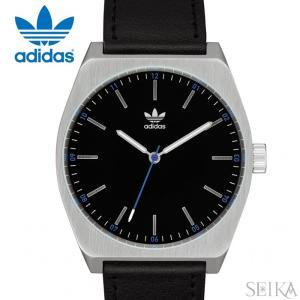 【当店ならお得クーポンあり】アディダス adidas Process_L1【9】Z05-625(Z05-625-00)時計 腕時計 メンズ レディース ブラック×シルバー ブラック レザー|ryus-select