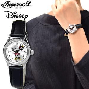 インガソール ディズニー Ingersoll Disney Classic CollectionZR26526(17) 26mm シルバー ブラックレディース 時計 腕時計ミッキー ミッキーマウスウォッチ|ryus-select